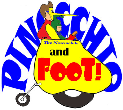 Pinocchio and Foot say PAFLY!!!